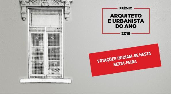 Votação do Prêmio Arquiteto e Urbanista do Ano iniciam-se nesta sexta-feira